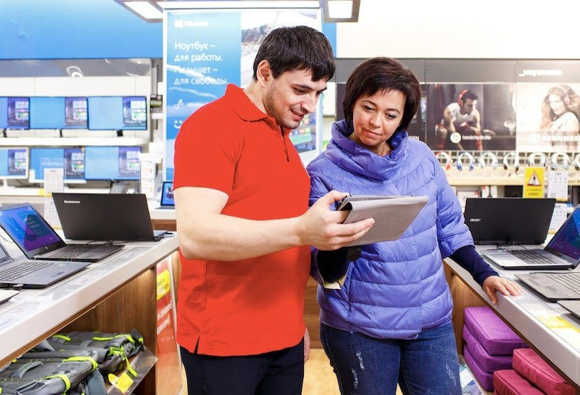 Как вернуть планшет в магазин?